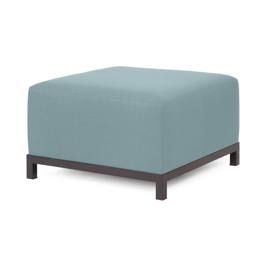 Tyler Dillon Sterling Breeze Polyester Square Ottoman
