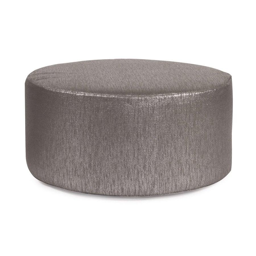 Tyler Dillon Glam Casual Zinc Round Ottoman