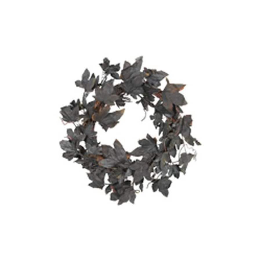 Fantastic Craft 20-in Indoor Leaves Artificial Halloween Wreath