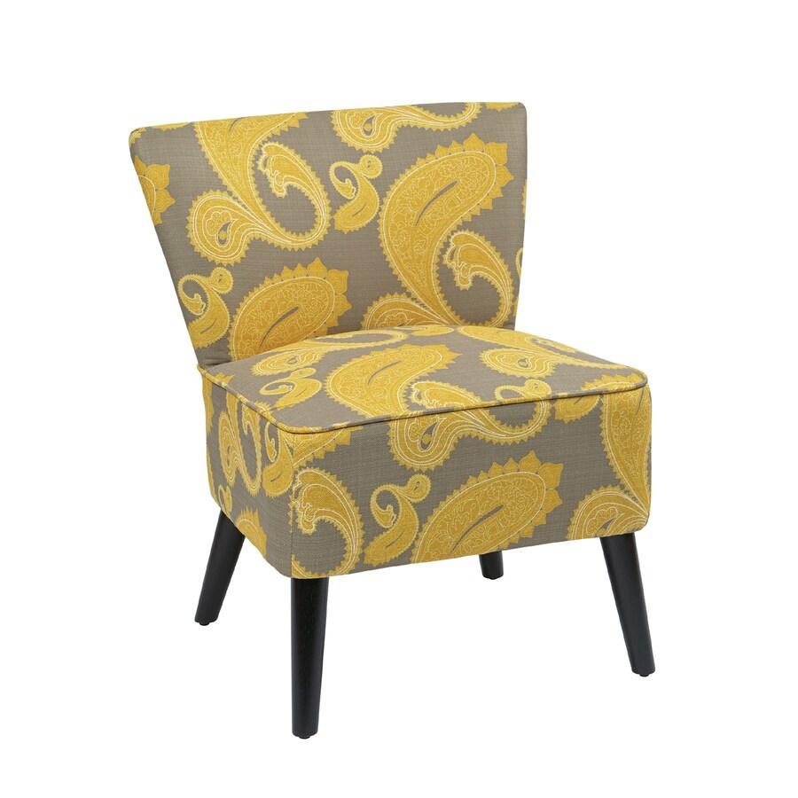 Office Star Apollo Eclectic Sweden Dijon Slipper Chair