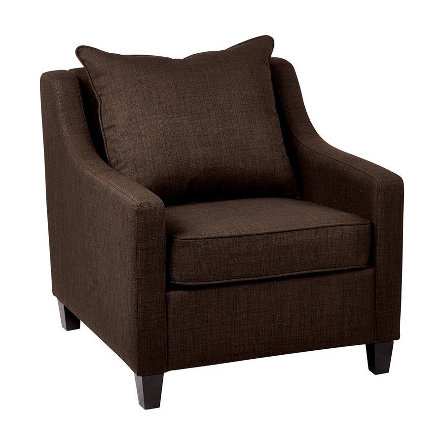 Office Star Regent Casual Milford Java Club Chair