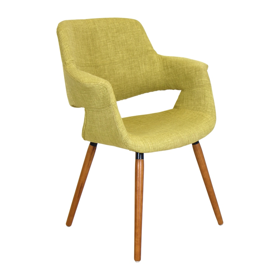 Lumisource Vintage Flair Midcentury Green Accent Chair