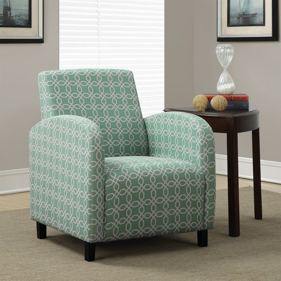Monarch Specialties Casual Faded Green Club Chair