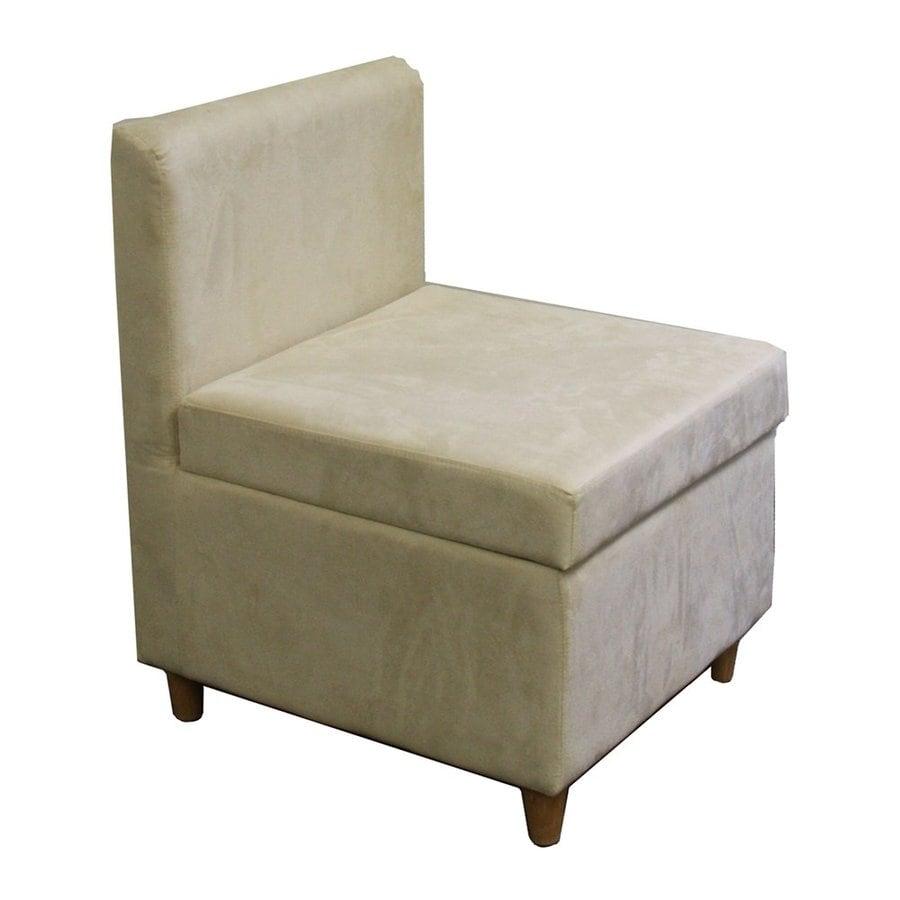 ORE International Modern Cream Accent Chair