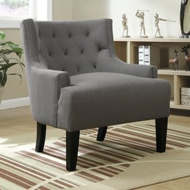 Poundex Ansley Casual Accent Chair