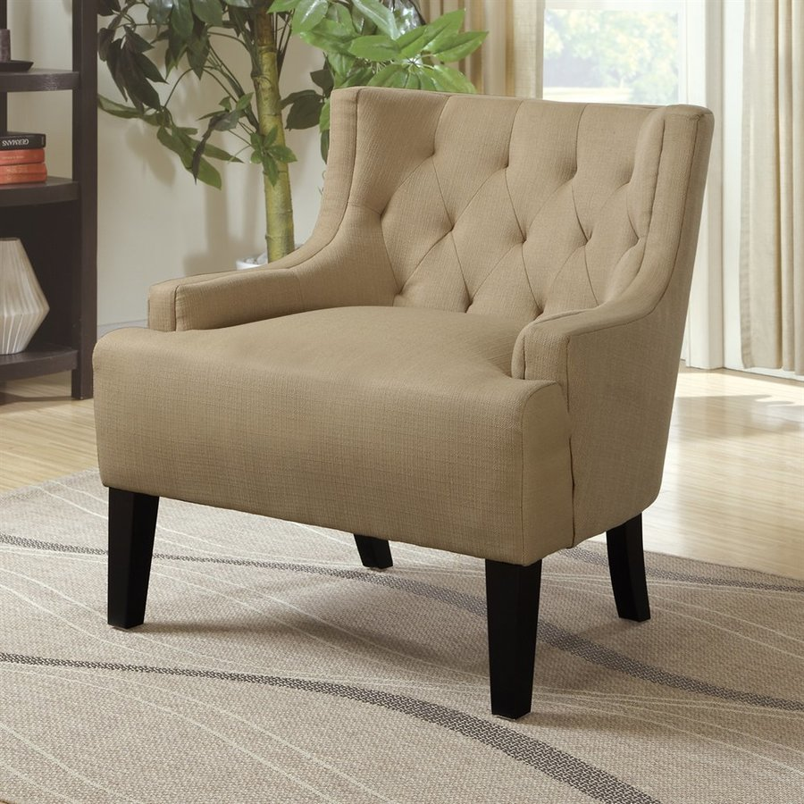 Poundex Ansley Casual Stone Accent Chair