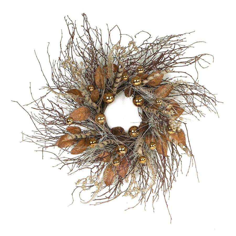 Melrose International 24-in Indoor Artificial Halloween Wreath