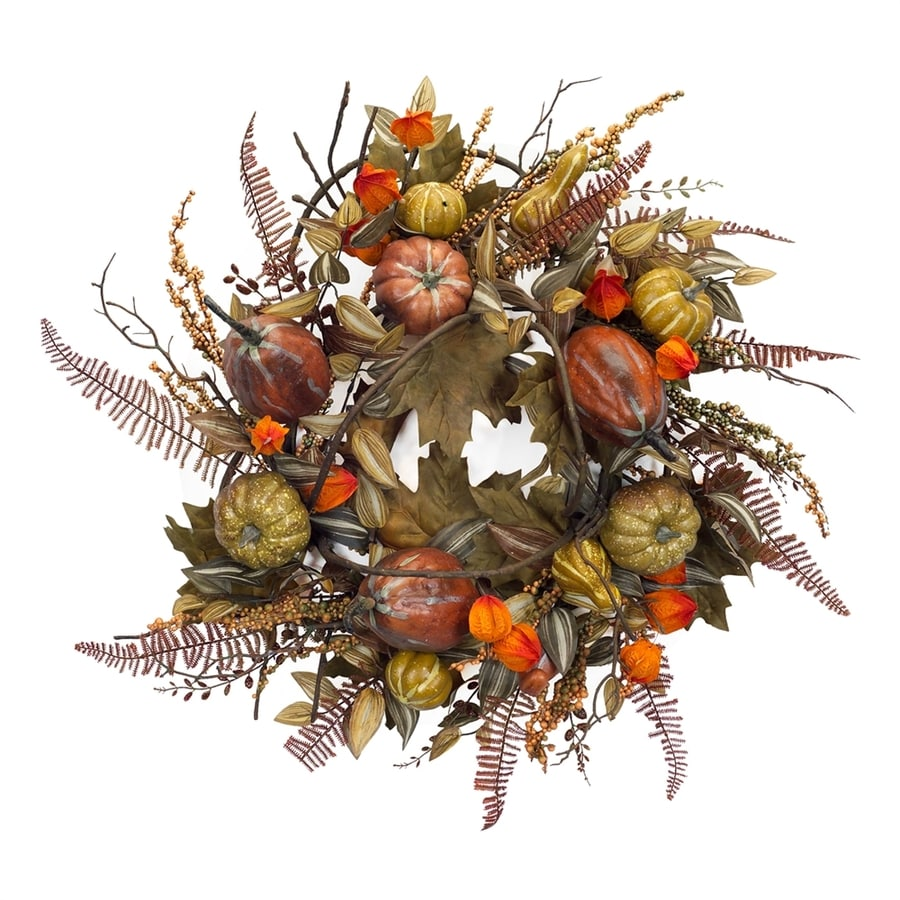 Melrose International 26-in Indoor Artificial Halloween Wreath