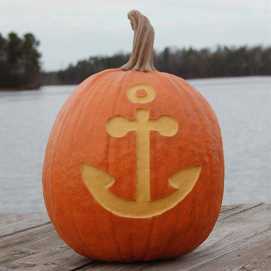 Craft-Tex Pumpkin Patch Anchor Artificial Harvest Pumpkin