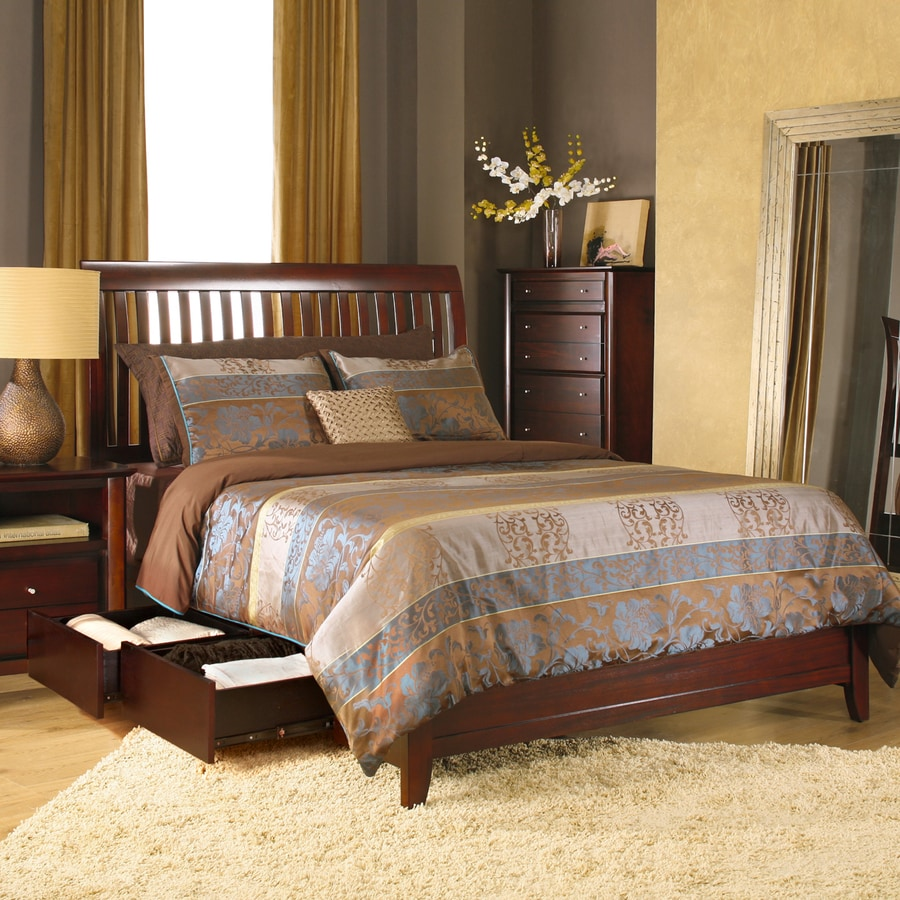 Modus Furniture City II Coco Full Platform Bed with Storage