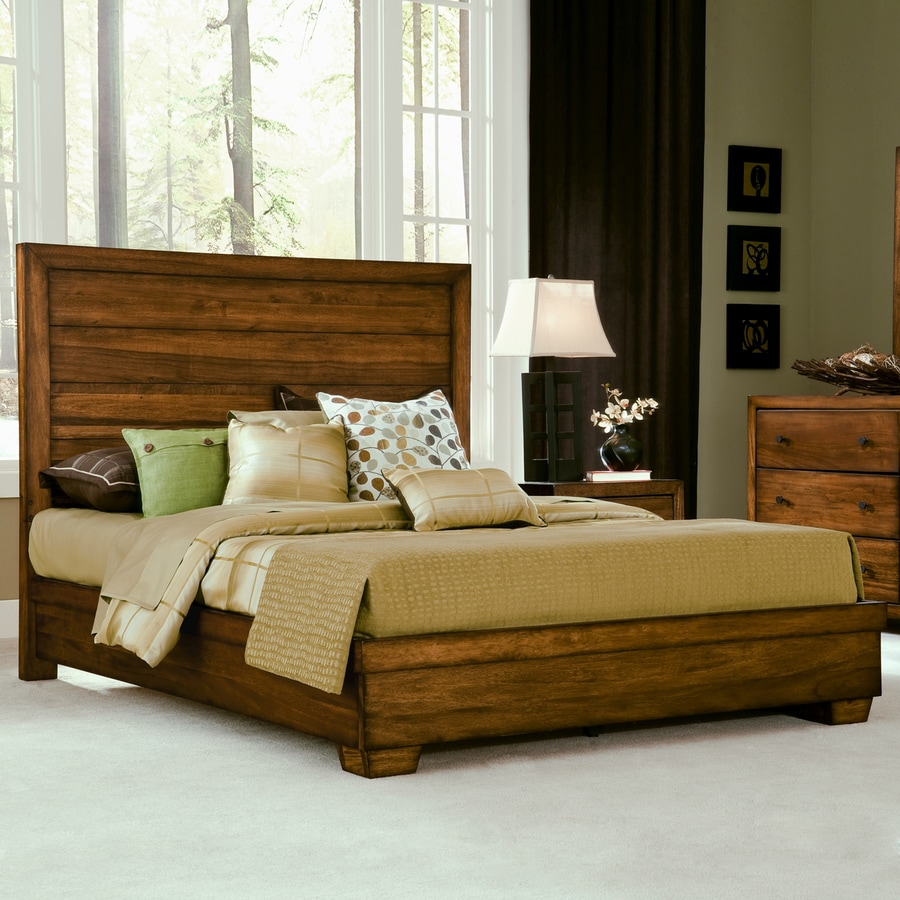 Modus Furniture Chelsea Park Macchiato King Low-Profile Bed