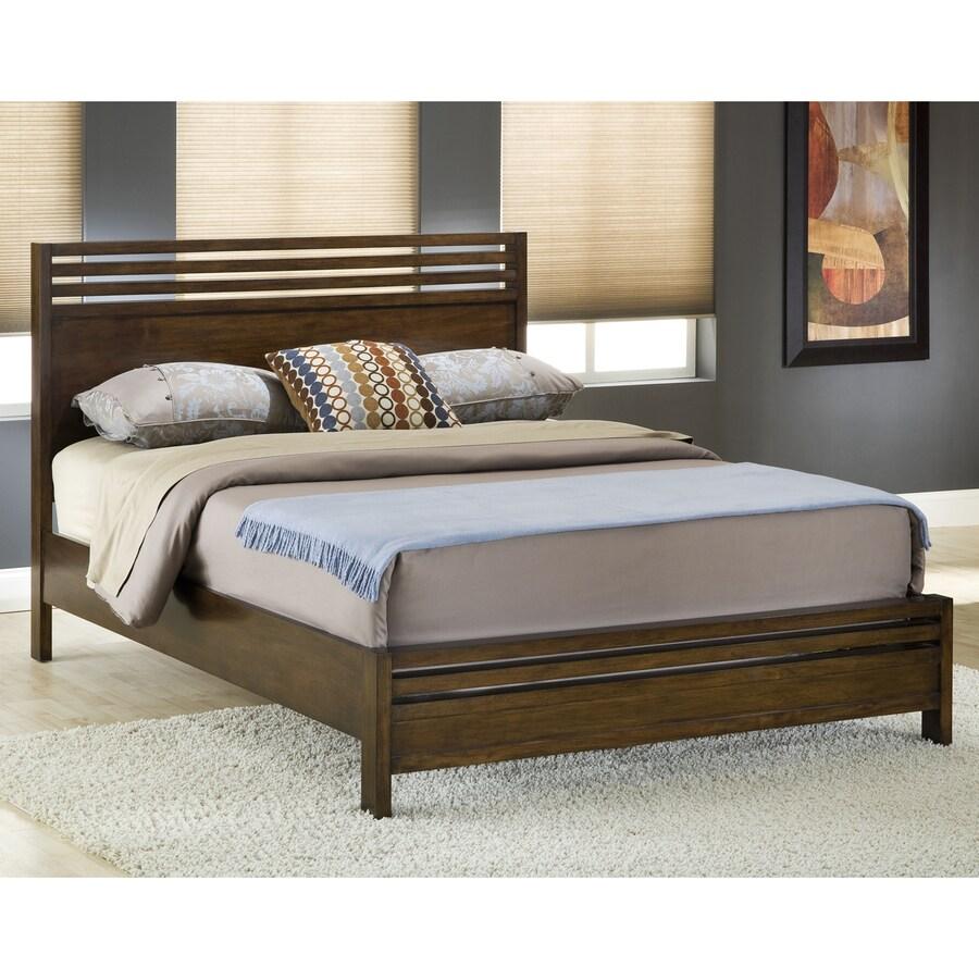 Modus Furniture Uptown Dark Truffle Queen Platform Bed
