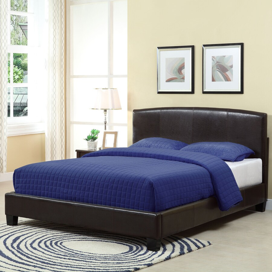 Modus Furniture Ledge Chocolate Brown Twin Platform Bed