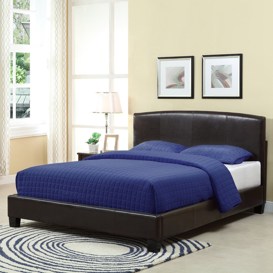 Modus Furniture Ledge Chocolate Brown Queen Platform Bed