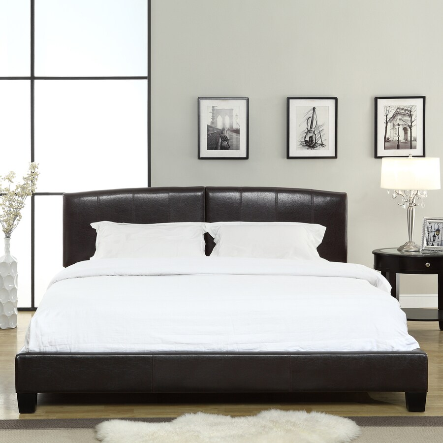 Modus Furniture Ledge Chocolate Brown King Platform Bed