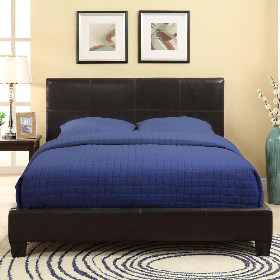 Modus Furniture Ledge Chocolate Brown Queen Platform Bed