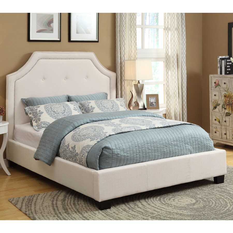 Modus Furniture Heritage Ivory Queen Platform Bed