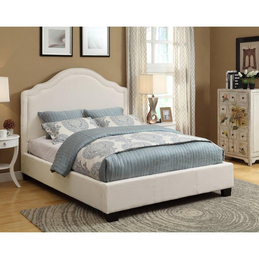 Modus Furniture Rath Ivory King Platform Bed