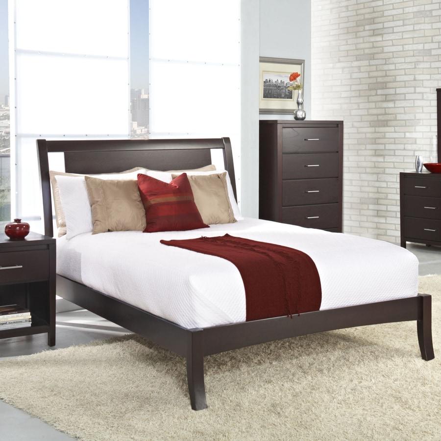 Shop Modus Furniture Nevis Espresso Twin Bed Frame at Lowes.com