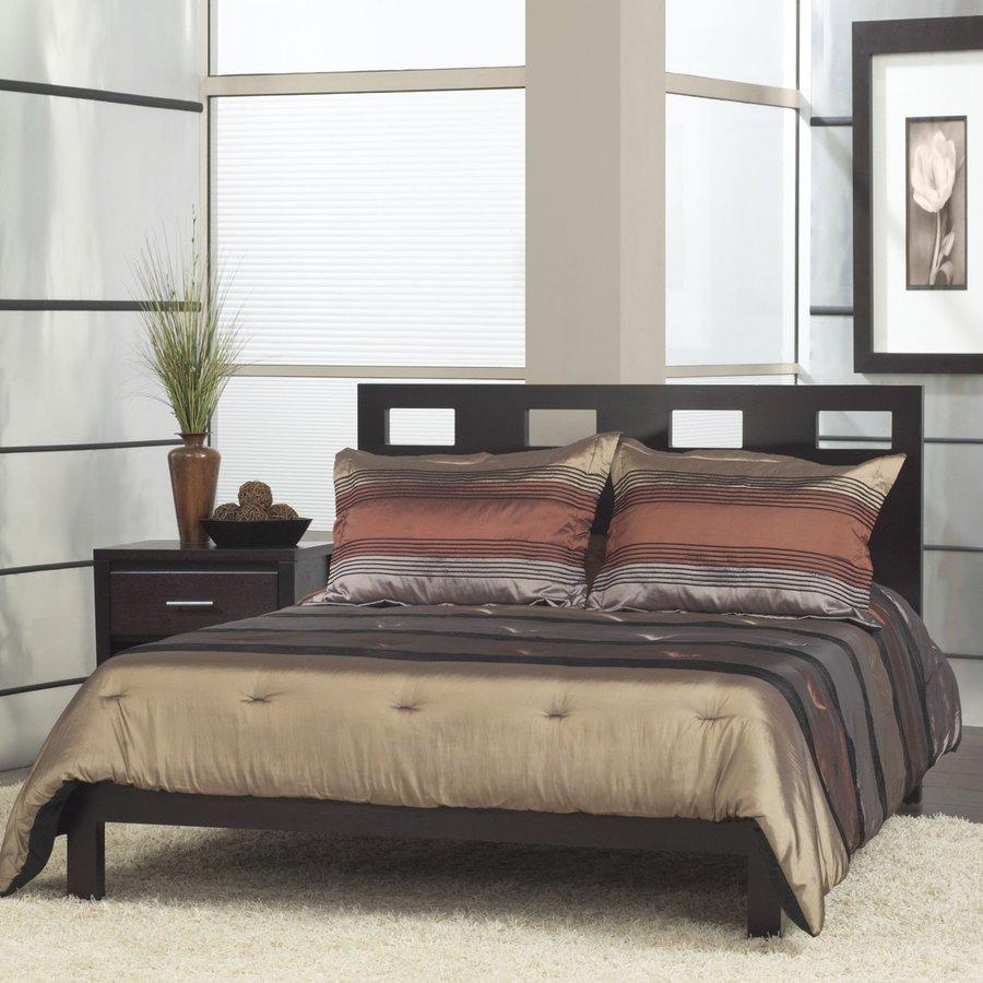 Modus Furniture Riva Espresso Queen Platform Bed