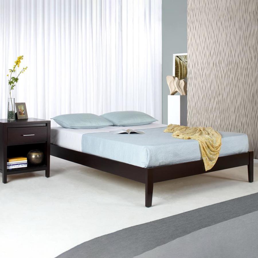 Modus Furniture Nevis Espresso Queen Platform Bed