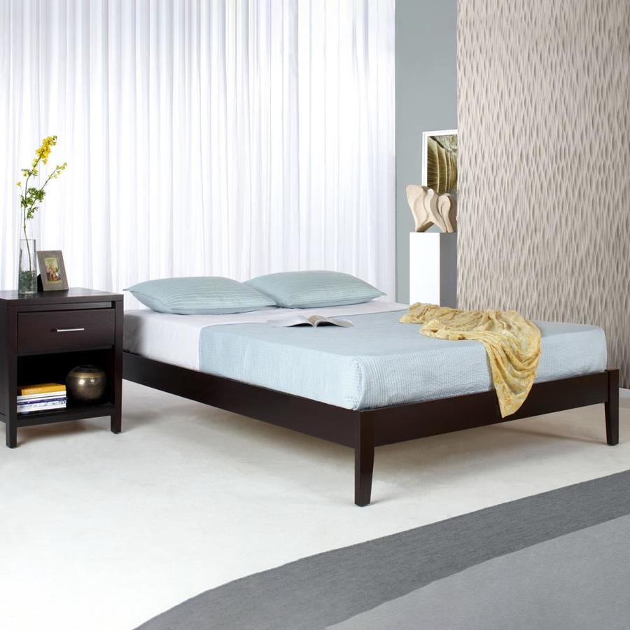 Modus Furniture Nevis Espresso California King Platform Bed