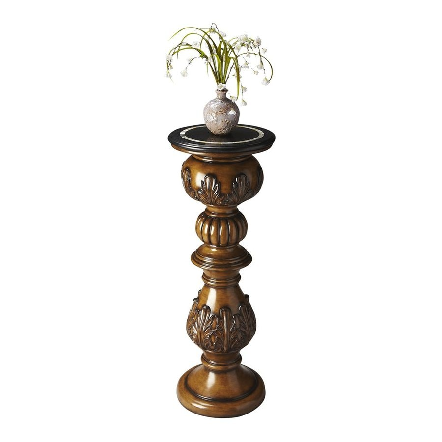 Butler Specialty Heritage 42-in Indoor Round Stone Plant Stand