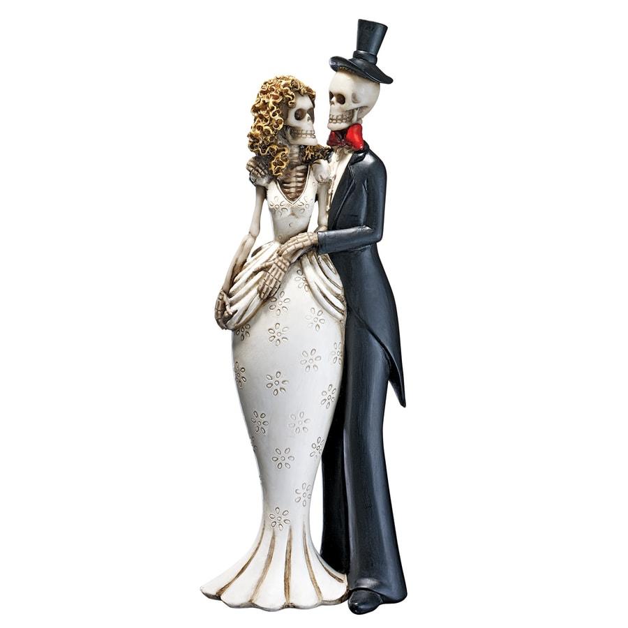 Design Toscano Skeleton Couple Sculpture