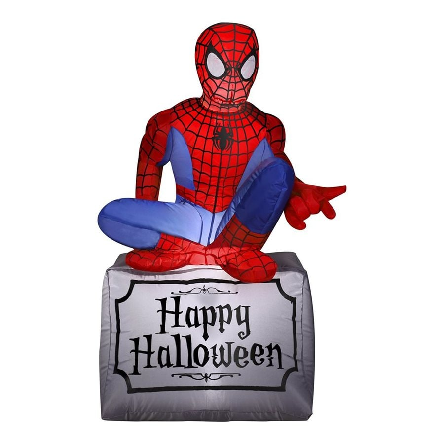 Gemmy Marvel 3.51-ft x 1.9-ft Lighted Halloween Inflatable