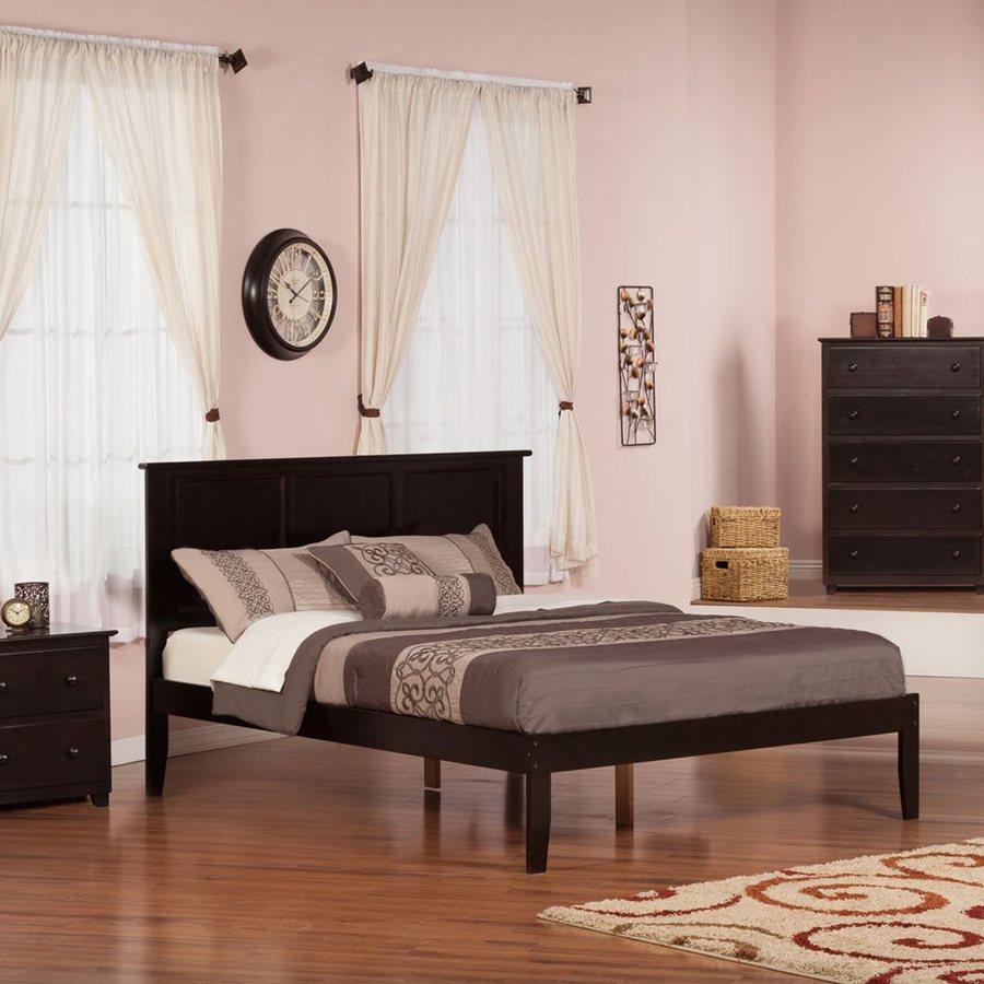 Atlantic Furniture Madison Espresso Queen Platform Bed