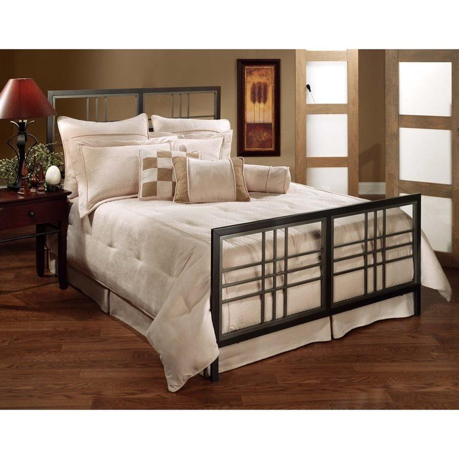 Hillsdale Furniture Tiburon Magnesium Pewter Queen Panel Bed