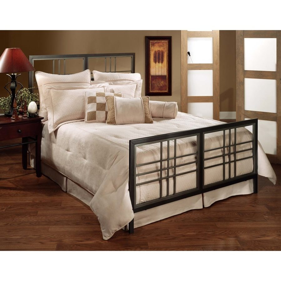 Hillsdale Furniture Tiburon Magnesium Pewter Twin Panel Bed