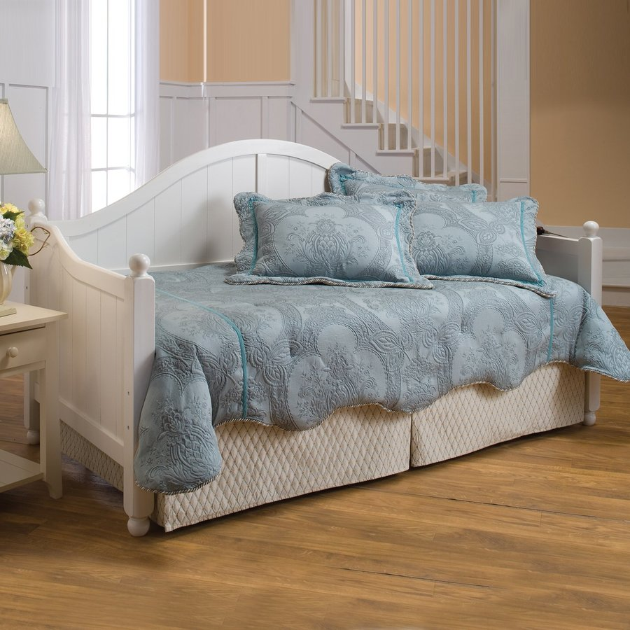 Hillsdale Furniture Augusta White Twin Trundle Bed