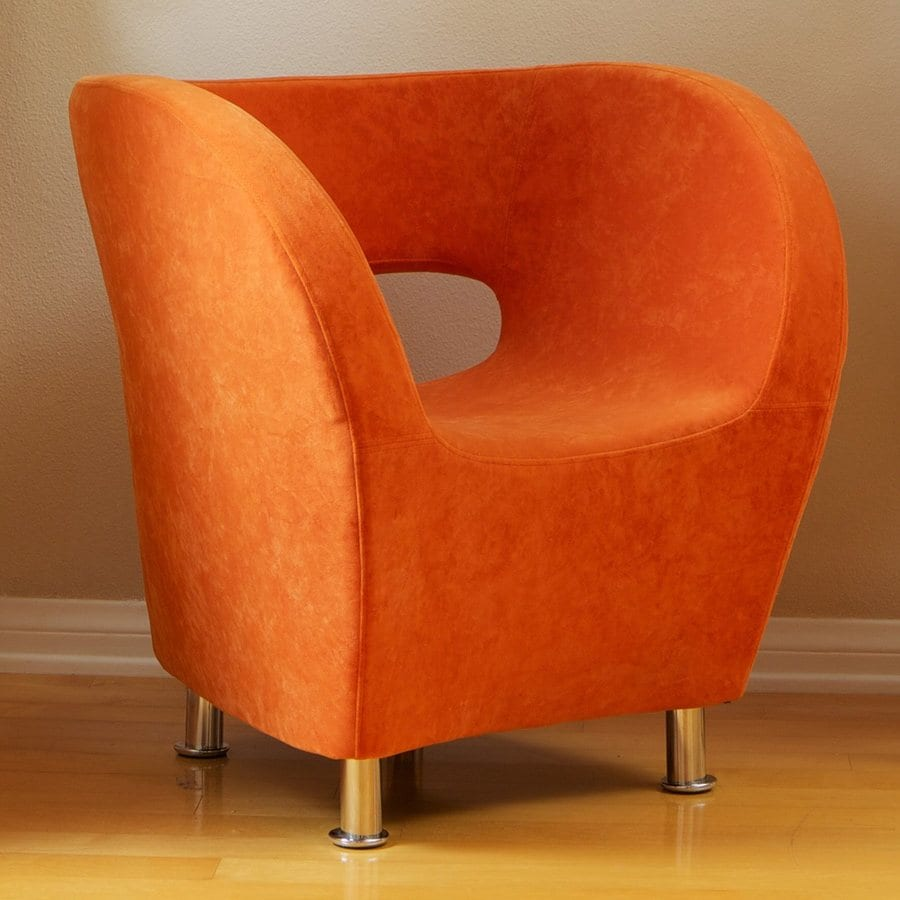 Best Selling Home Decor Modern Orange Accent Chair
