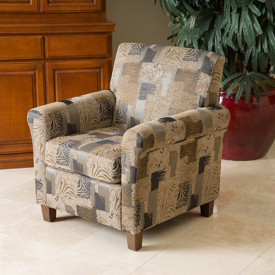Best Selling Home Decor Brunswick Casual Multi-Animal Print Club Chair