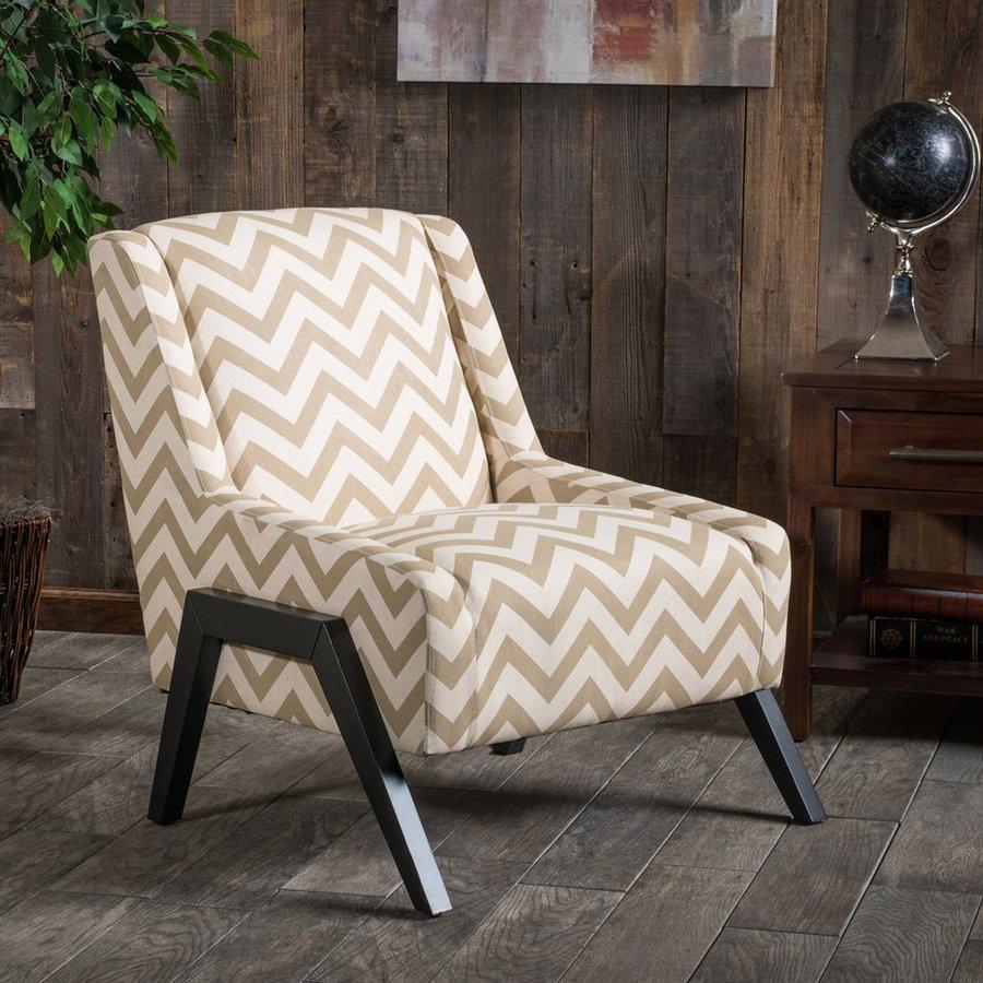 Best Selling Home Decor Ziggy Modern Camel Linen Accent Chair