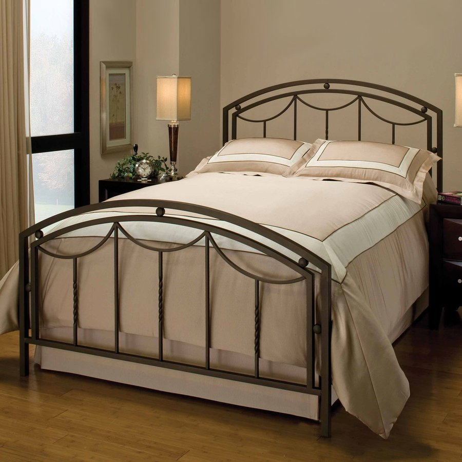 Hillsdale Furniture Arlington Bronze King Panel Bed