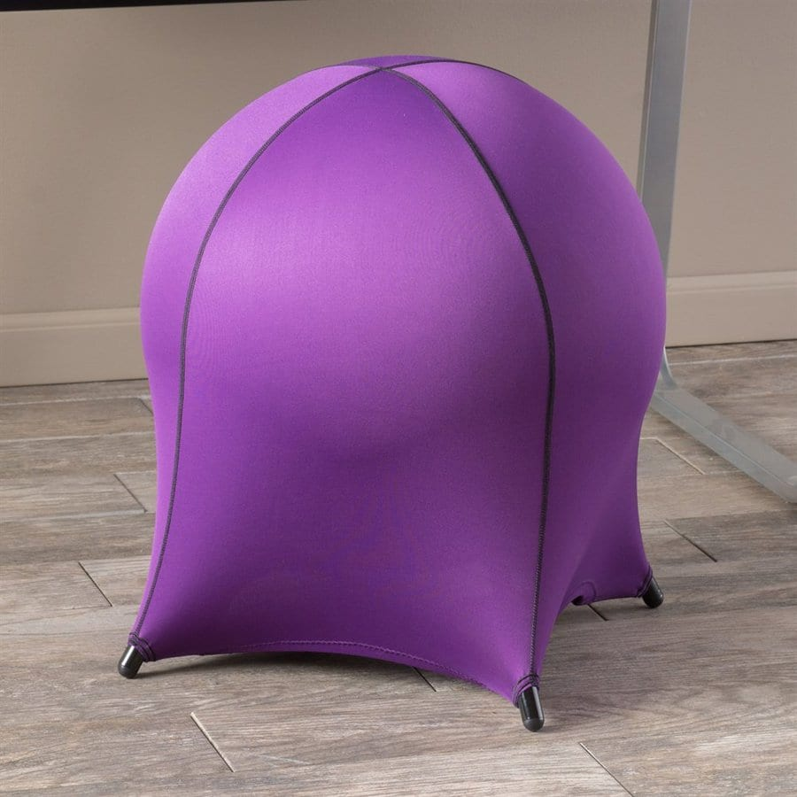Best Selling Home Decor Inflato Modern Purple Synthetic Accent Chair