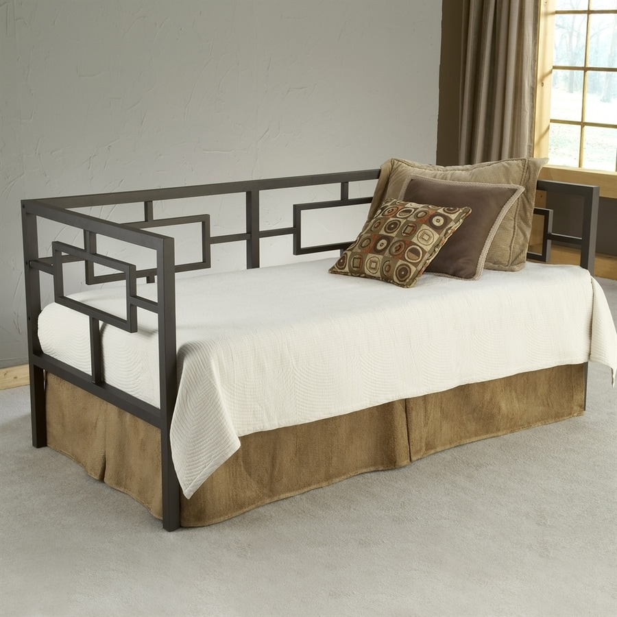 Hillsdale Furniture Chloe Bronze Twin Trundle Bed