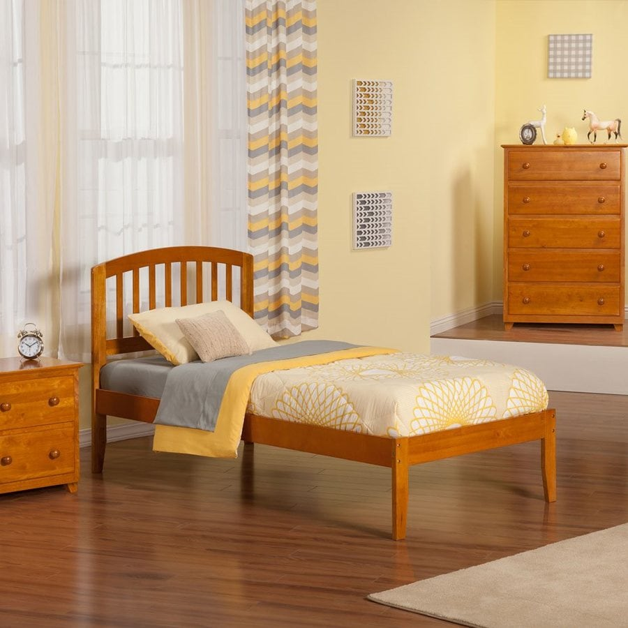 Atlantic Furniture Richmond Caramel Latte Twin Platform Bed