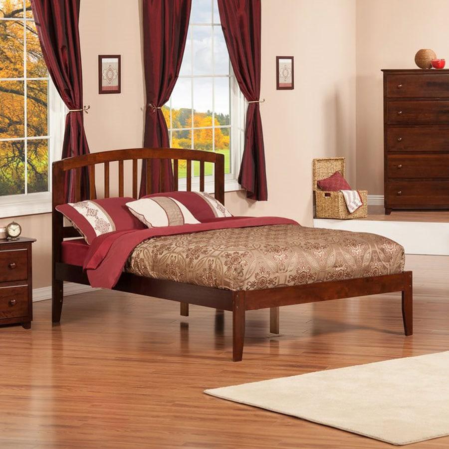Atlantic Furniture Richmond Antique Walnut Full Platform Bed