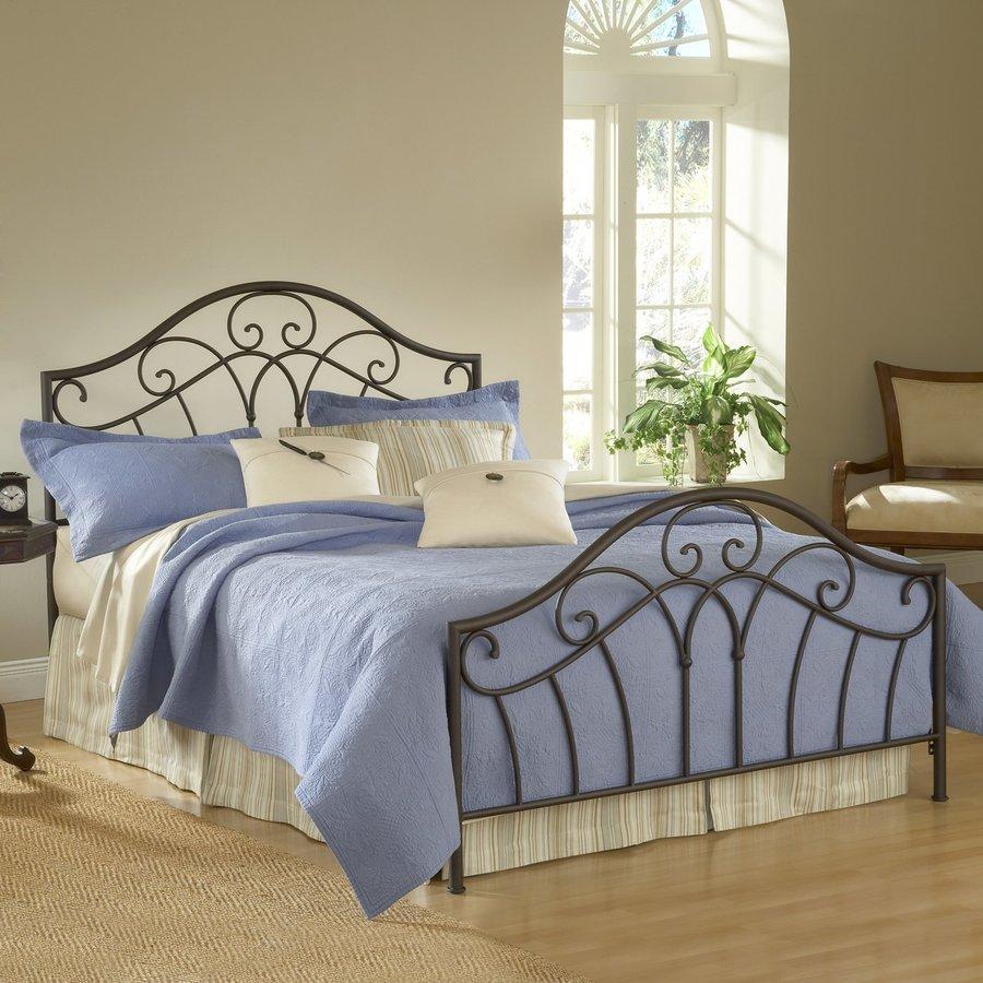Hillsdale Furniture Josephine Metallic Brown Queen Panel Bed