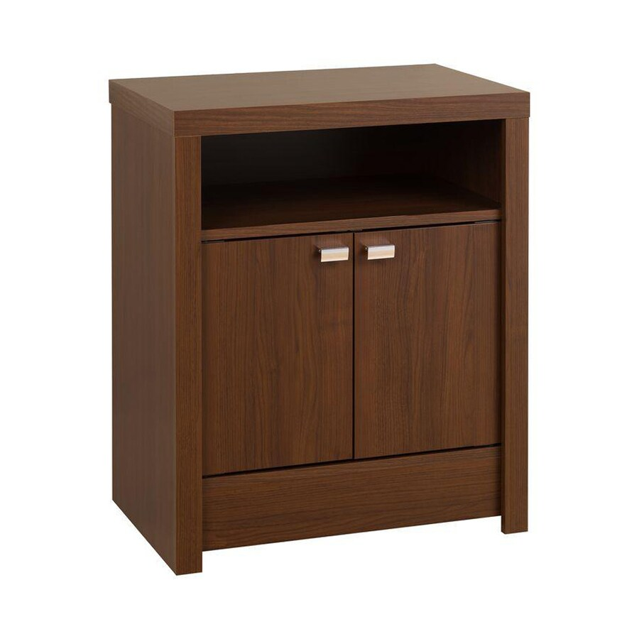 Prepac Furniture Modern Warm Cherry Nightstand