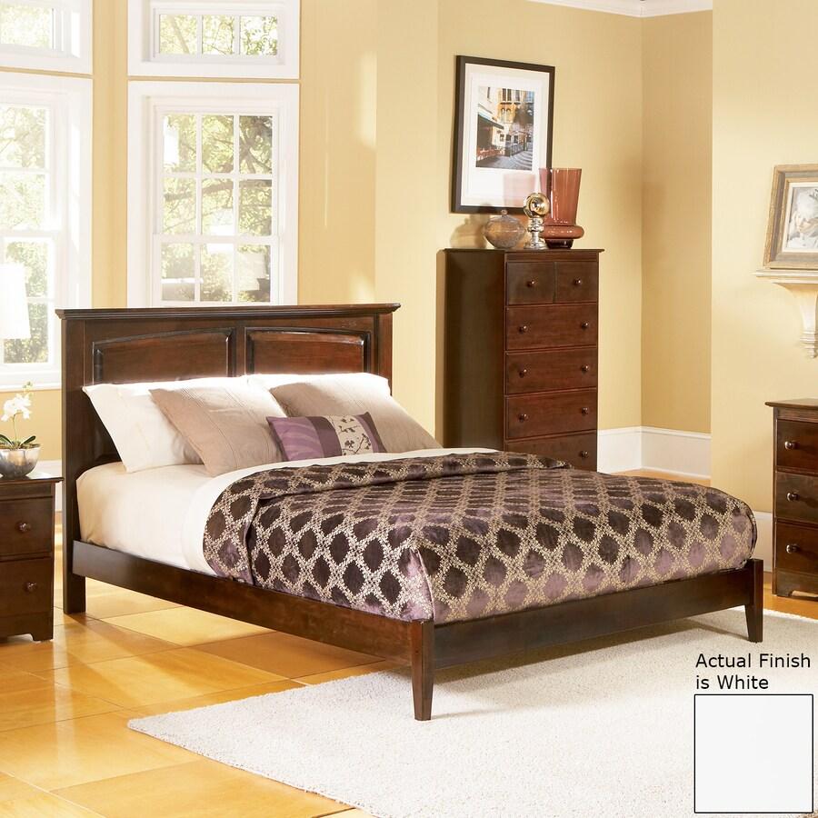 Atlantic Furniture Monterey White Twin Platform Bed