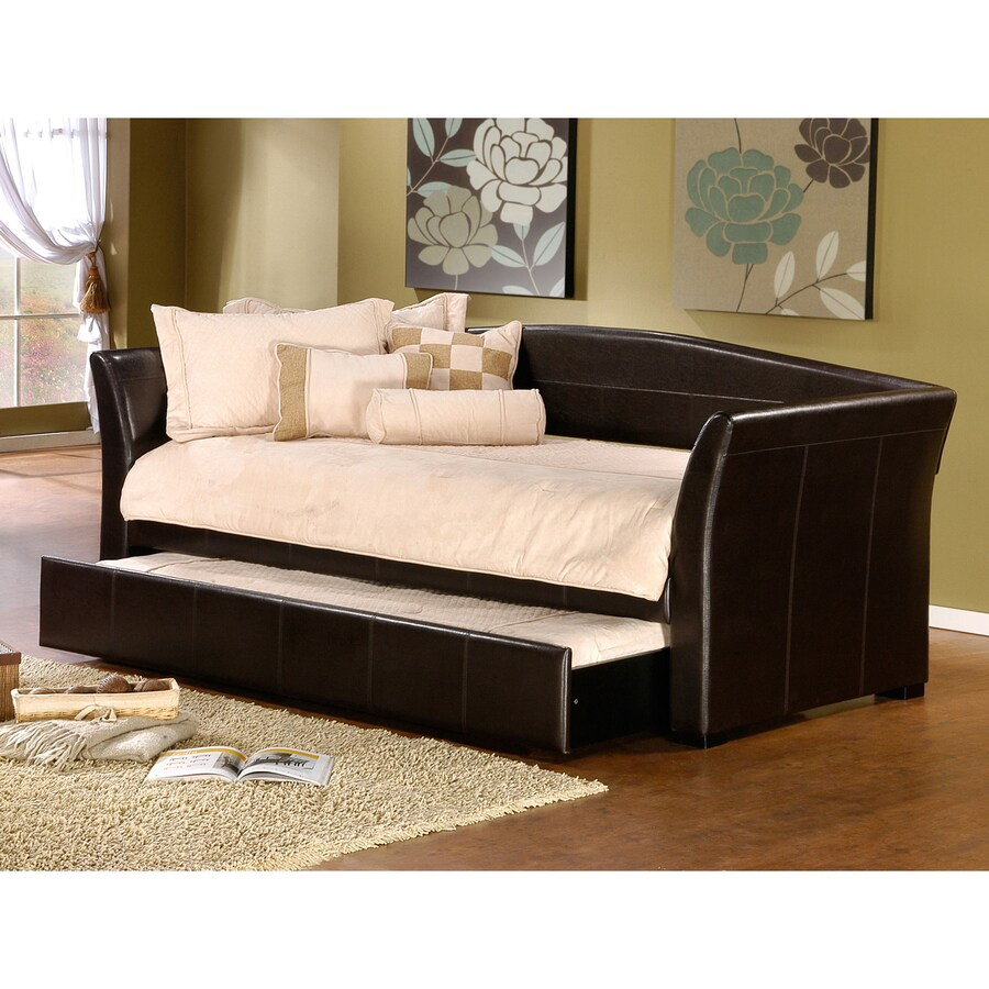 Hillsdale Furniture Montgomery Brown Twin Trundle Bed