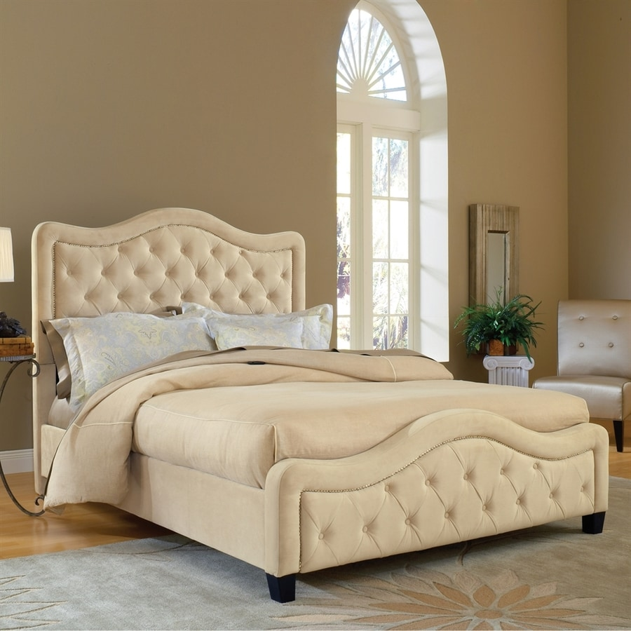 Hillsdale Furniture Trieste Buckwheat California King Upholstered Bed