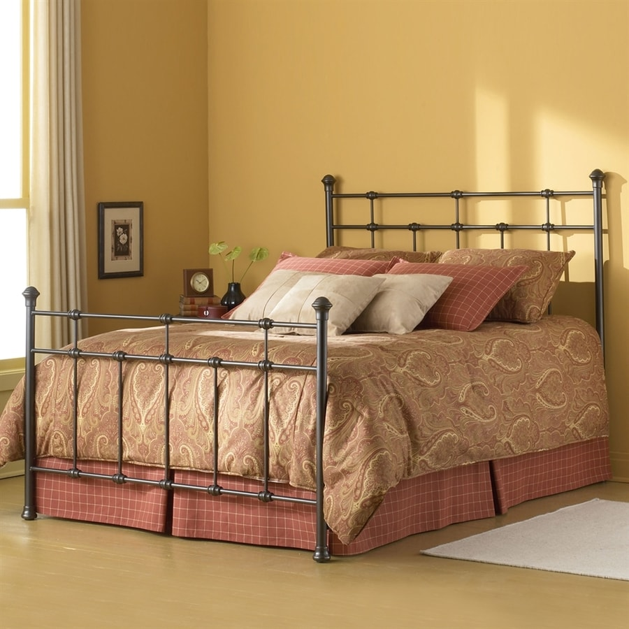 Fashion Bed Group Dexter Hammered Brown Queen 4-Poster Bed