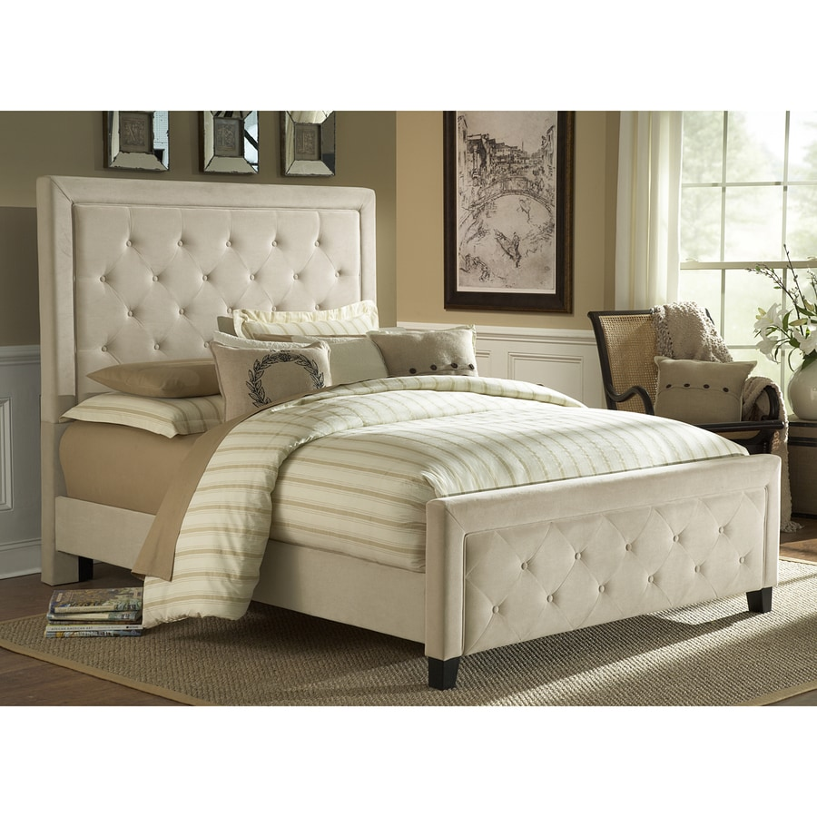 Hillsdale Furniture Kaylie Buckwheat King Upholstered Bed