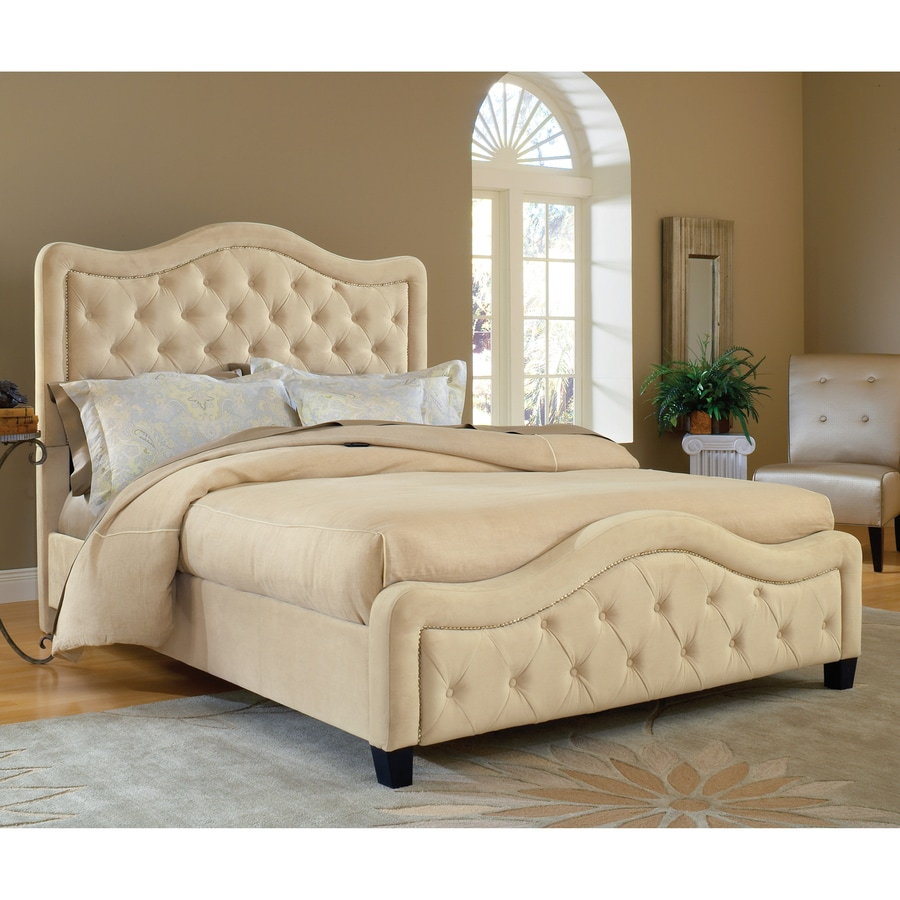 Hillsdale Furniture Trieste Buckwheat King Upholstered Bed