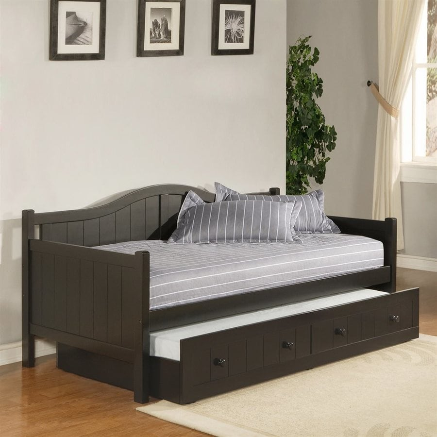 Hillsdale Furniture Staci Black Twin Trundle Bed